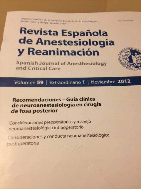 Guía clínica de neuroanestesiología en cirugía de fosa posterior